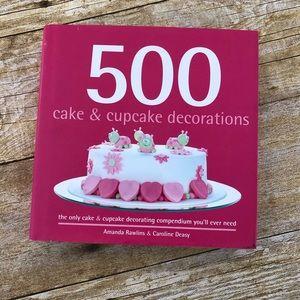 500 Cake & Cupcake Decorations